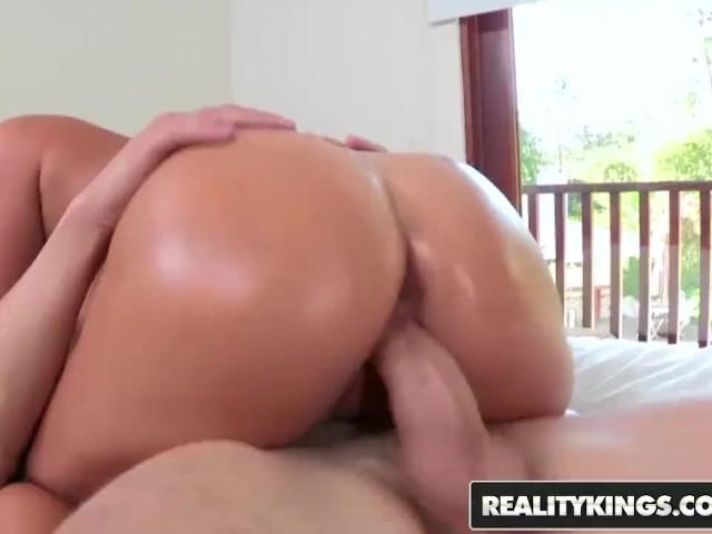 Reality Kings - Hot Brunette Teen Eva Lovia Wants a Big Cock to Ride