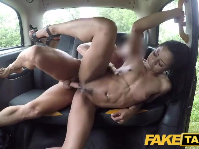 Fake Taxi Fast Fucking and Creampie for Peachy Ass Ebony Babe Kira Noir