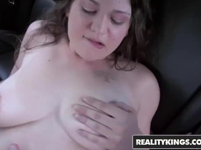 Reality Kings - Curvy Teen Alyssa Gets Picked Up and Fucked in the Backseat