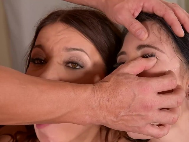 Two Horny Teens Lovenia Lux & Roxy Dee Suck His Balls & Blow His Dick