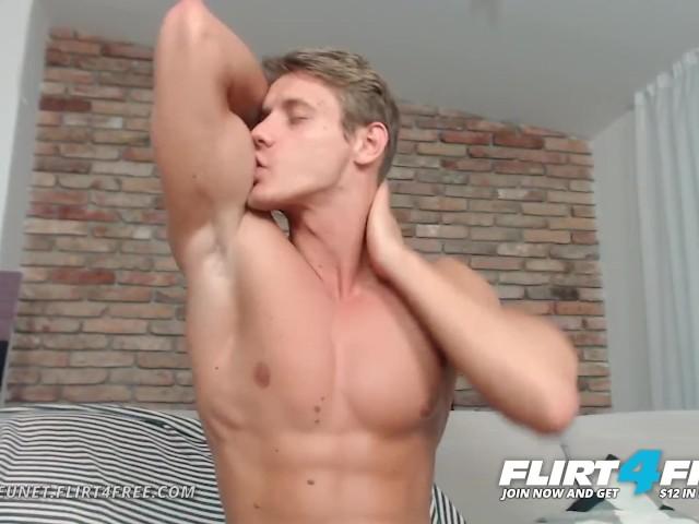 Flirt4free Mode Eluan Jeunet - Perfect Ripped Model Stroking His Huge Cock  - Free Porn Videos - YouPorngay