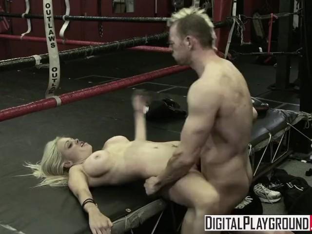 Digital Playground - Hot Blonde Jesse Jane & Erik Everhard Fuck in the Ring