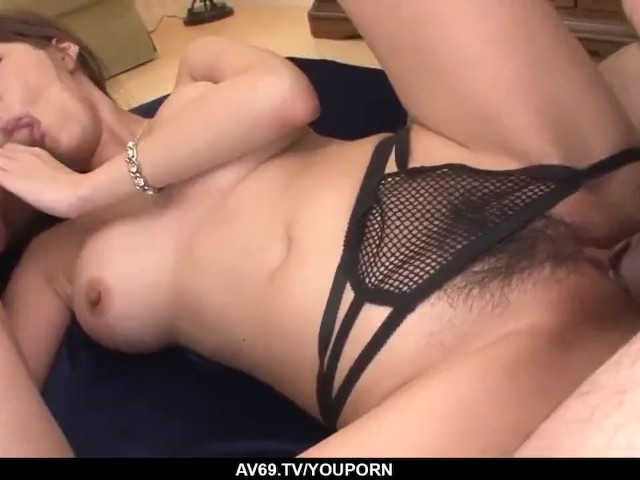 Complete Threesome Hardcore for Needy Akari Asagiri - More at 69avs.Com