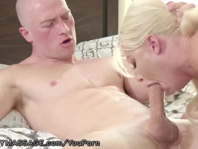 Fantasymassage Stepmom Shows Son How to Please a Woman