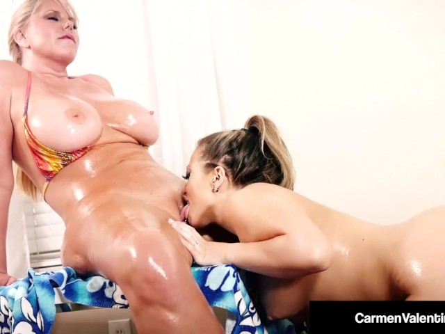 Pussy Lovers Carmen Valentina %26 Karen Fisher Eat That Snatch