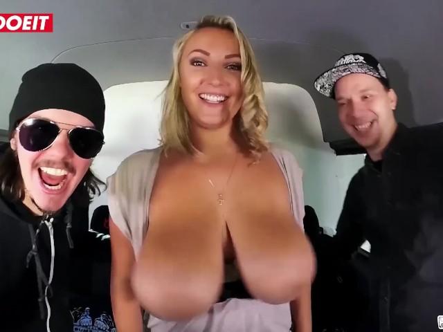 Letsdoeit - German Bbw With Big Natural Tits Has Fun in the Bumsbus