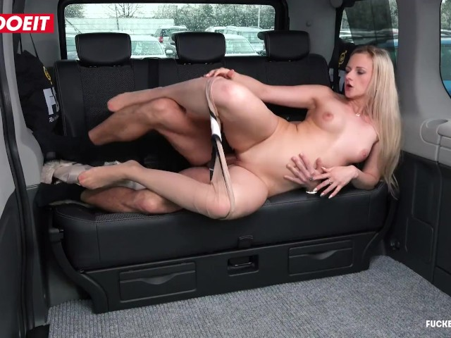 Letsdoeit - Lady Wants Drivers Cock to Keep Her Warm