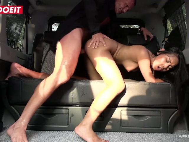 Letsdoeit - Cabbie Enjoys His Fantasy Fuck With Asian Teen
