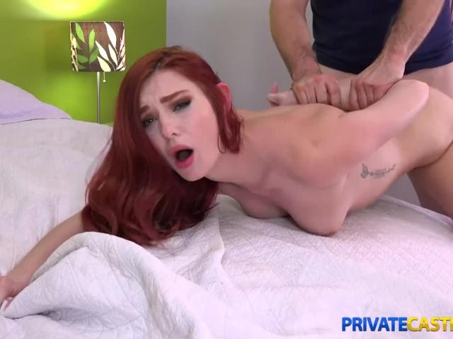 Private Casting X - Lacy Lennon - Fucking an Aspiring Redhead