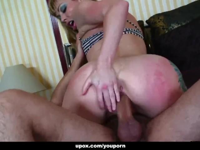 Slutty Blonde Cock Sucker, Adrianna Nicole Got a Hardcore Assfuck