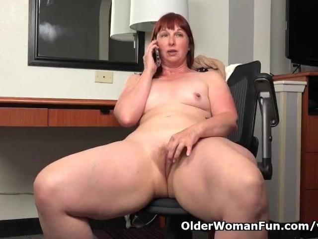 American Bbw Milf Scarlett Has Phone Sex In Office - Free -1194
