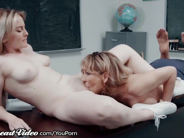 Sweetheart Tribbing With My Hot Milf Teacher Cherie Deville!
