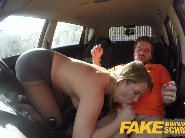 Fake Driving School Czech Babe Nikky Dream Orgasms During Hard Fucking