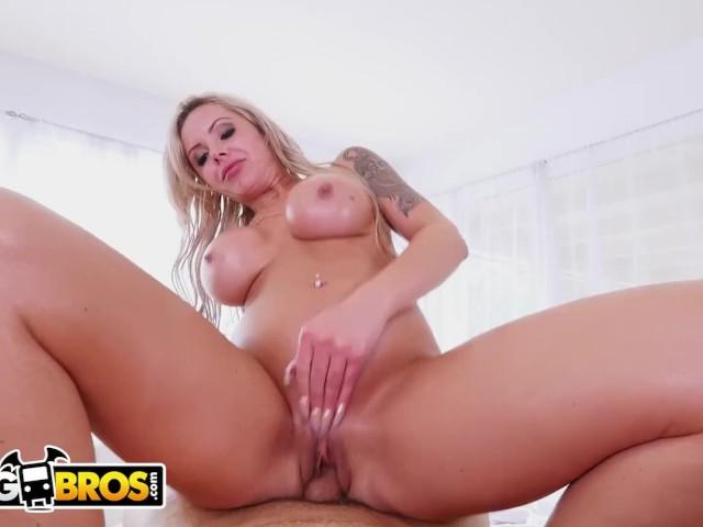 Bangbros - Busty Nina Elle Gets Fucked by Derrick Pierce During Massage