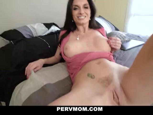 Pervmom - Sexy Milf Rides Her Step Sons Stiff Cock