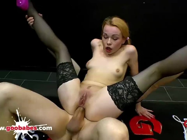 Rebecca Black Teeny Tiny Anal Whore - German Goo Girls