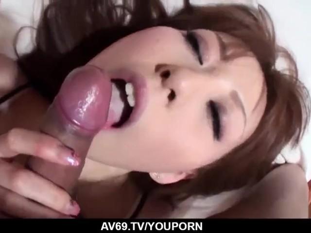 Yuu Sakura Sucks With Passion Before Enduring Harsh Sex - More at 69avs.Com