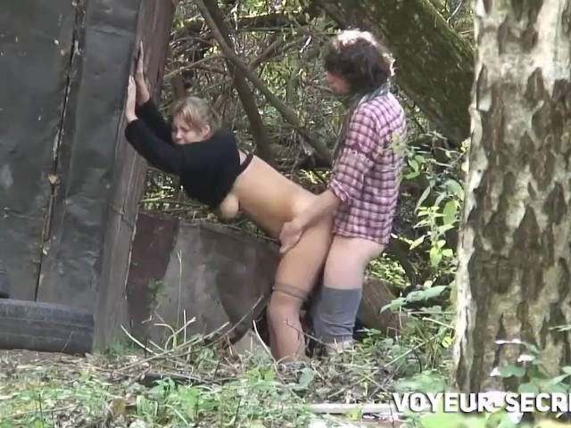 Voyeur Caught Teens Fucking in the Park