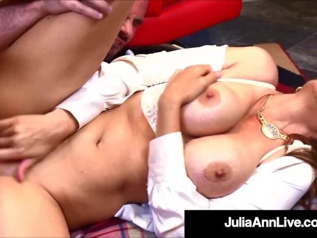Sex Charged Teacher Julia Ann Bangs Her Hard Student!