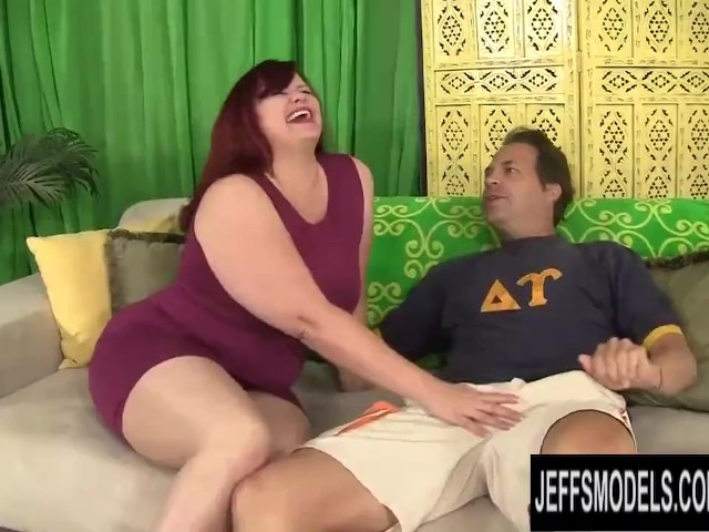Big Booty Redhead Plumper Marcy Diamond Gets Plowed by a Long Cock