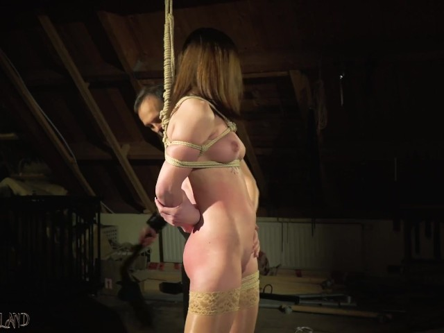 Sensual Hot and Kinky Bondage Sex for Tied Up Teen