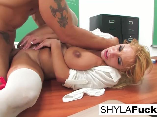 Sexy Schoolgirl Shyla Gets Fucked