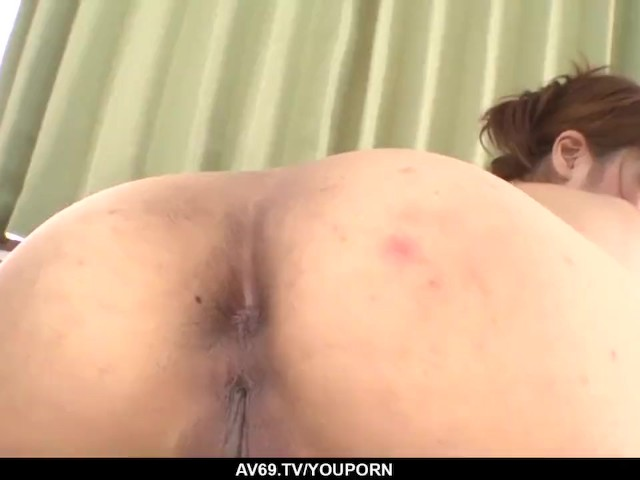 Ibuki Akitsu Loves Feeling Stiff Pleasure in the Ass - More at 69avs.Com