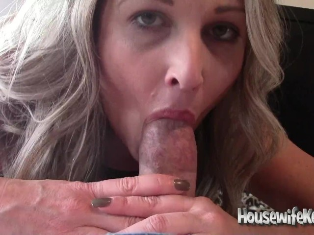 Horny Wife Sucks and Fucks While Hubby Holds the Camera