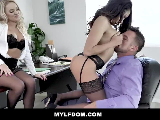Mylfdom - Big Dick for Sexy Office Slave Adrian Hush