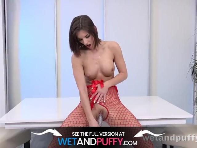 Sex Toy Play for Hot Brunette Jenifer Jane