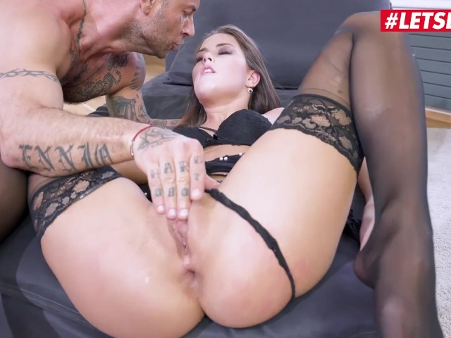 Letsdoeit - Hot Redhead Cindy Shine Tied and Fucked in Her Ass 'till She Cums