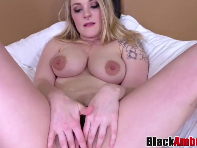 Busty Amateur Fawn Doused in Jizz at Interracial Casting