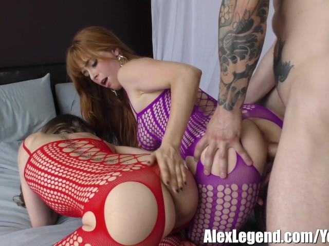 Hottest 3some alex legend fucks riley reid amp penny pax 4