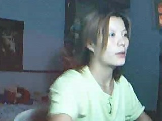 Chinese Girl Rubbing Pussy On Webcam