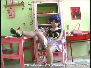 Manga Babe in Pelagic Uniform