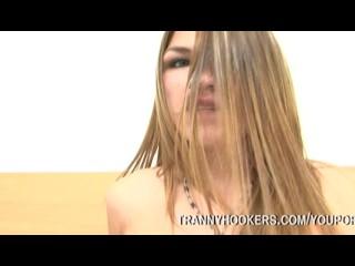 Tranny Hooker Surprises Client