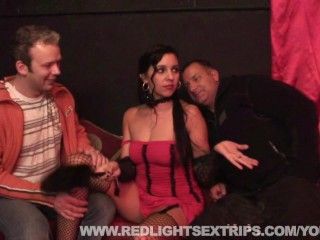 Cute with bated breath hooker getting fucked