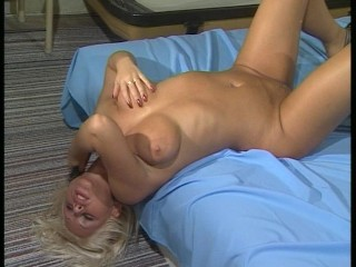 Hot blonde loves messy dealings