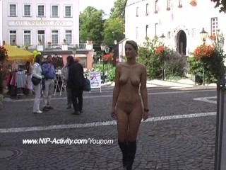 Maria - Hot Public Nudity In the air Sweet Babe