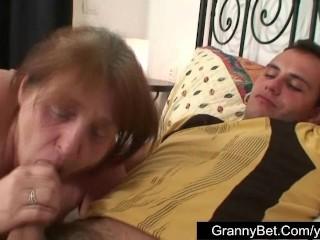 Nice granny fucked hard