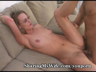 Sissy Hubby Shares Wife's Hot Pussy