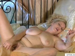 Busty Cougar Multiple Masturbation