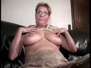 Grandma makes themselves cum