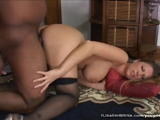 Dismal Clothes-horse Shoves His Huge Dick Nigh Blondes Pussy