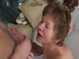 Granny gets herself some young loving