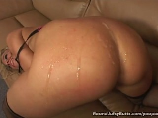 Round Juicy Butt Inclusive Takes Moneyed Hard From Behind
