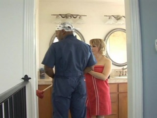 Son taking a shower lets put emphasize plumber in to fuck her planner in foreign lands - don't we all?