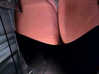 POV facesitting nearly pantyhose 2