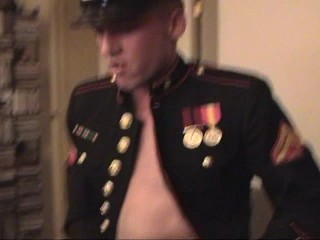 Can't cock a snook at a man in uniform  (CLIP)