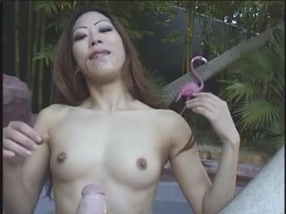 POV blowjob from a sexy asian – Dr. Moretwat's